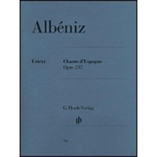 Henle Urtext Editions Albéniz - Chants d'Espagne - Op. 232