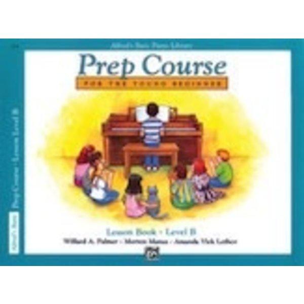 Alfred Music Alfred's Basic Piano Prep Course: Lesson Book B