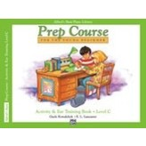 Alfred Music Alfred's Basic Piano Prep Course: Activity & Ear Training Book C
