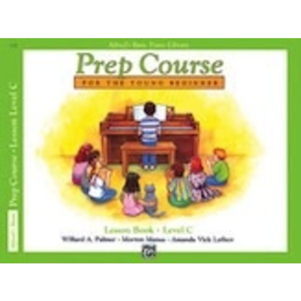 Alfred Music Alfred's Basic Piano Prep Course: Lesson Book C