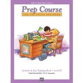 Alfred Music Alfred's Basic Piano Prep Course: Activity & Ear Training Book D
