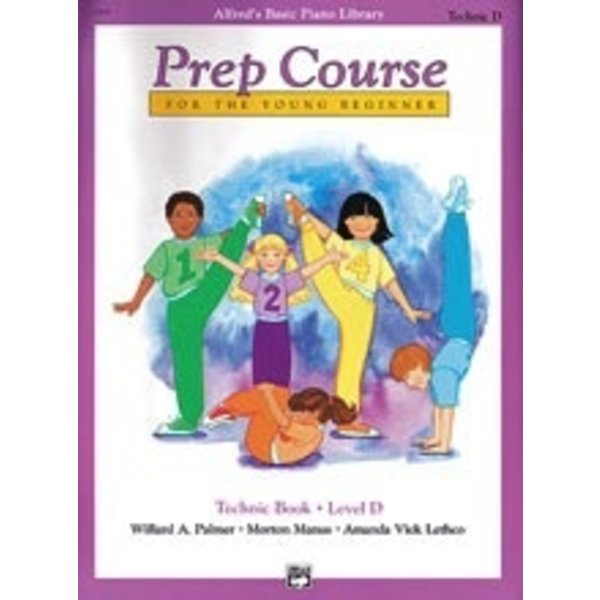 Alfred Music Alfred's Basic Piano Prep Course: Technic Book D