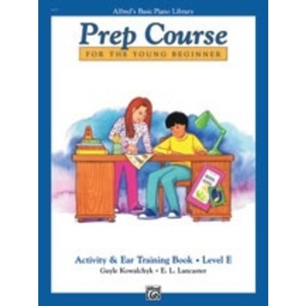 Alfred Music Alfred's Basic Piano Prep Course: Activity & Ear Training Book E