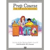 Alfred Music Alfred's Basic Piano Prep Course: Activity & Ear Training Book F