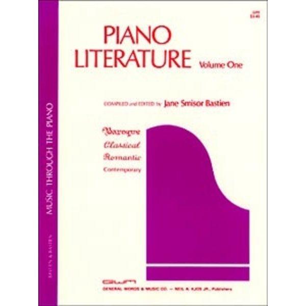 Bastien Piano Piano Literature - Volume 1