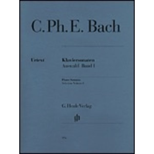 Henle Urtext Editions C. Ph. E. Bach - Selected Piano Sonatas - Volume I