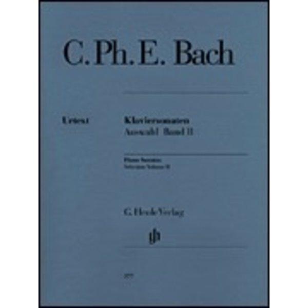 Henle Urtext Editions C. Ph. E. Bach - Selected Piano Sonatas - Volume II