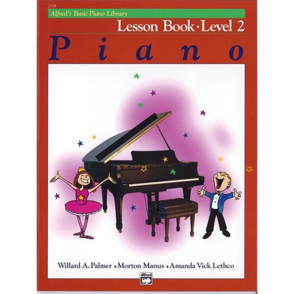 Alfred Music Alfred's Basic Piano Course: Lesson Book 2
