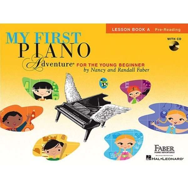 Faber Piano Adventures My First Piano Adventure - Lesson Book A with CD