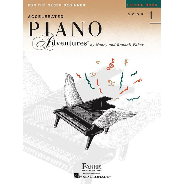 Faber Piano Adventures Accelerated Piano Adventures - Lesson Book 1