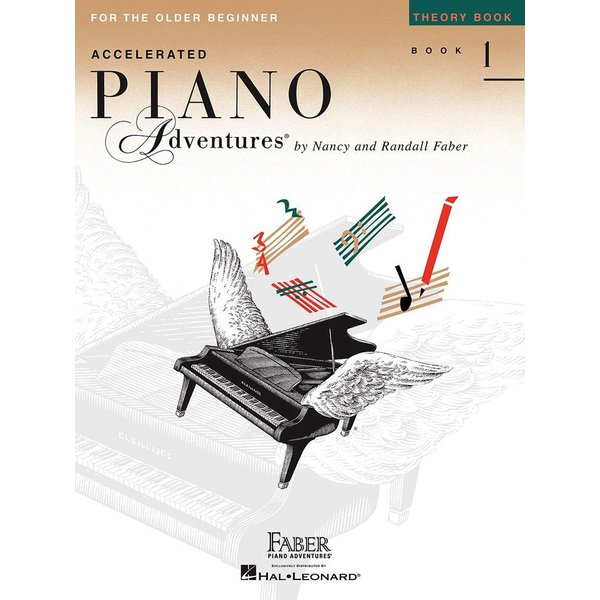 Faber Piano Adventures Accelerated Piano Adventures - Theory Book 1