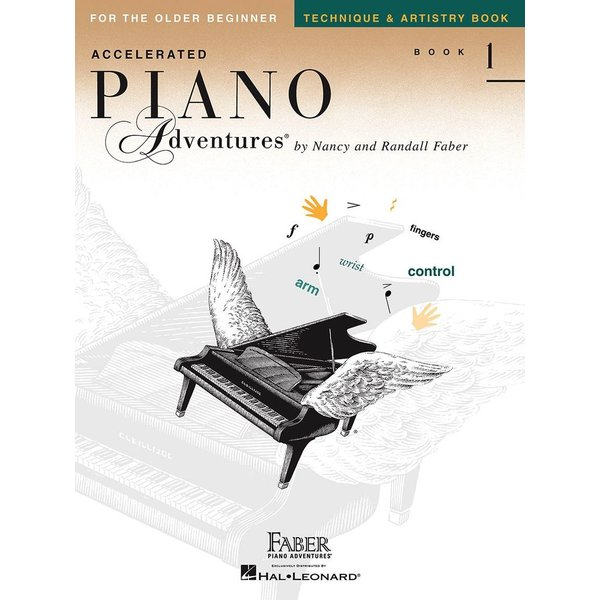Faber Piano Adventures Accelerated Piano Adventures - Technique & Artistry Book 1