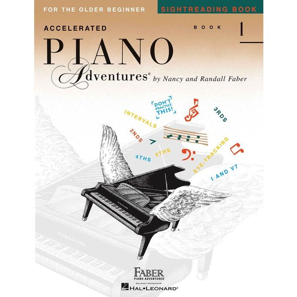 Faber Piano Adventures Accelerated Piano Adventures - Sightreading Book 1