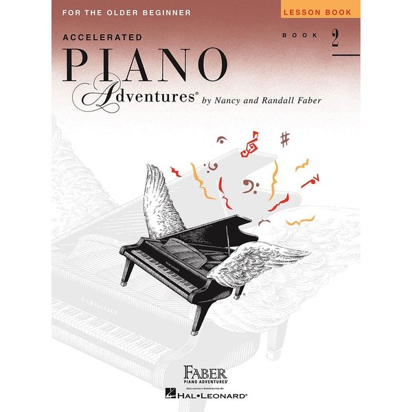 Faber Piano Adventures Accelerated Piano Adventures - Lesson Book 2