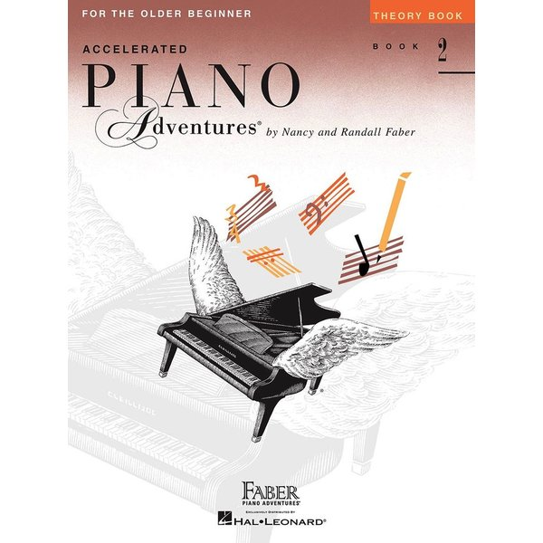 Faber Piano Adventures Accelerated Piano Adventures - Theory Book 2