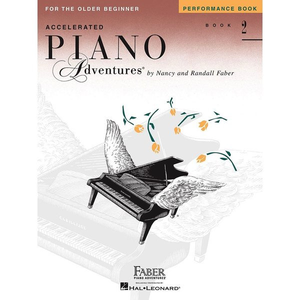 Faber Piano Adventures Accelerated Piano Adventures - Performance Book 2