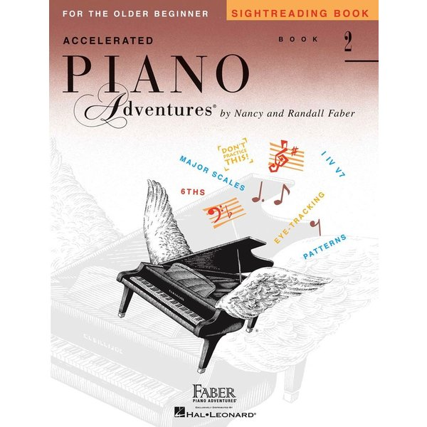 Faber Piano Adventures Accelerated Piano Adventures - Sightreading Book 2