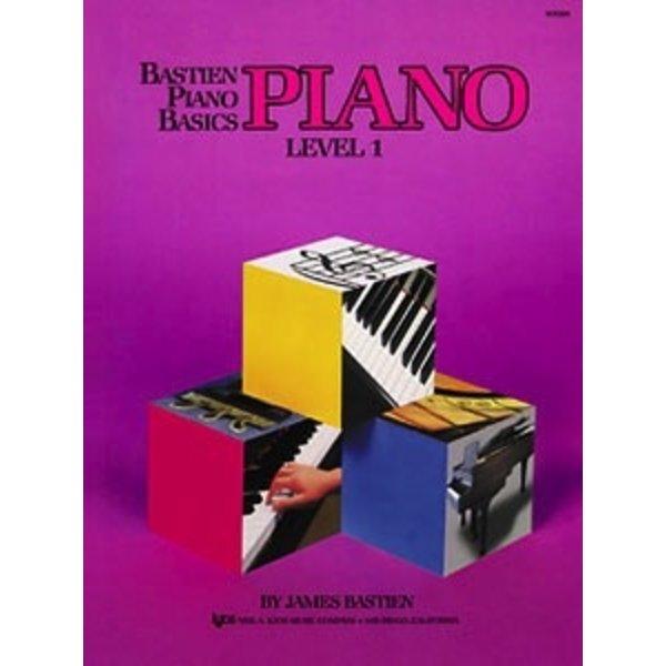 Bastien Piano Bastien Piano Basics, Level 1, Piano