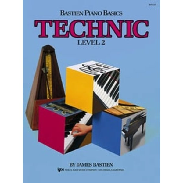 Bastien Piano Bastien Piano Basics, Level 2, Technic