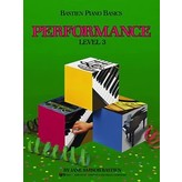 Bastien Piano Bastien Piano Basics, Level 3, Performance