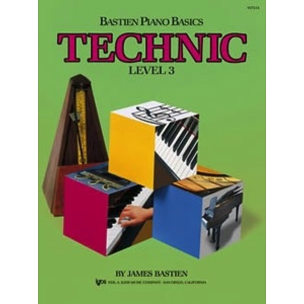 Bastien Piano Bastien Piano Basics, Level 3, Technic