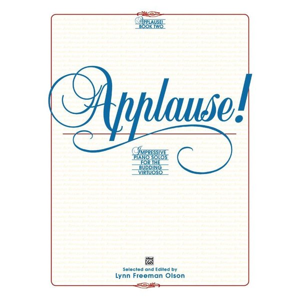 Alfred Music Applause!, Book 2