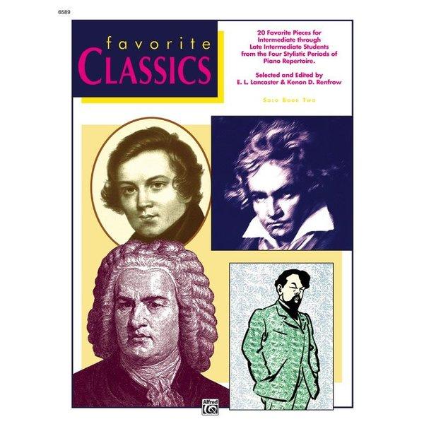 Alfred Music Favorite Classics: Solo, Book 2