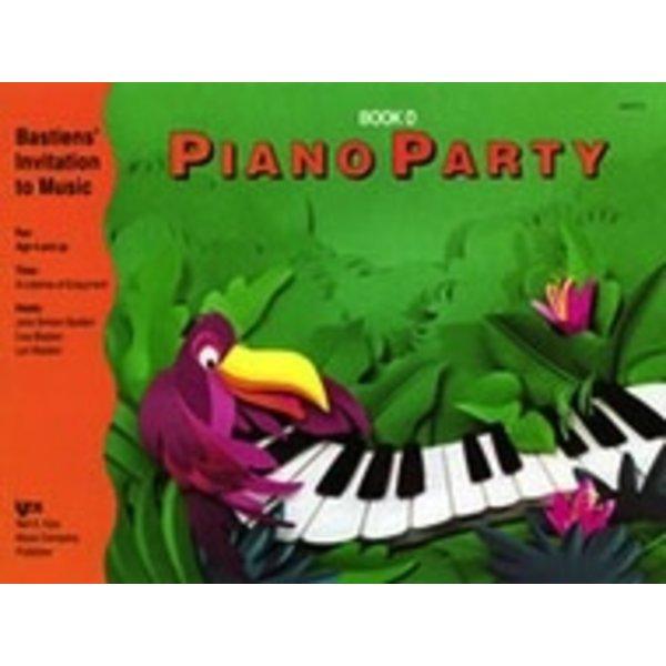 Bastien Piano Piano Party Book D