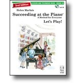 FJH Succeeding at the Piano® Lesson and Technique Book - Grade 1B (2nd edition) with CD