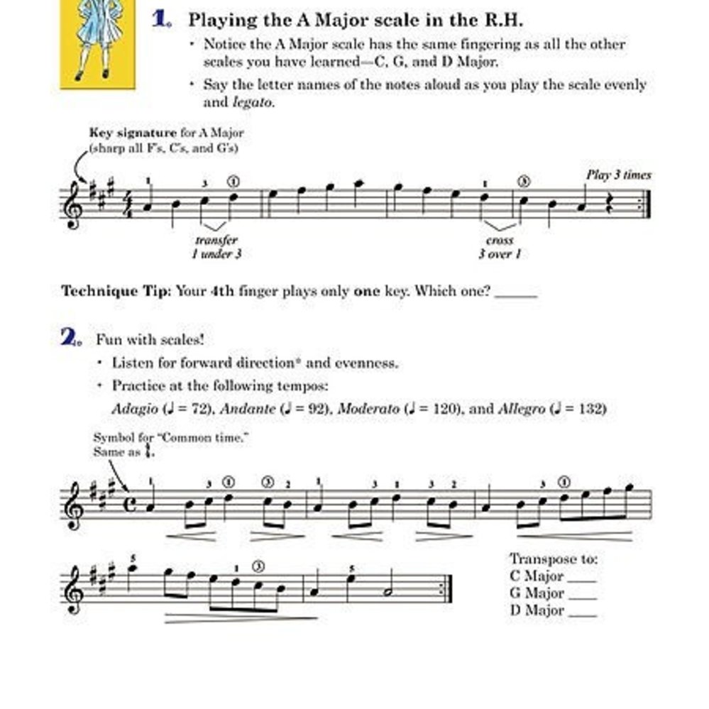 Succeeding at the Piano, Lesson and Technique Book, Grade 2B, with CD