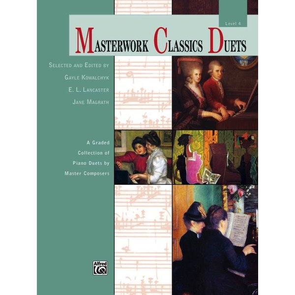 Alfred Music Masterwork Classics Duets, Level 4