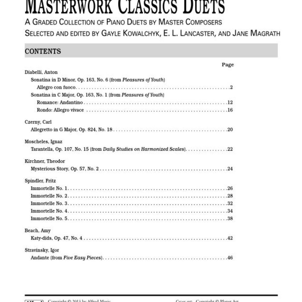 Level 4 Masterwork Classics