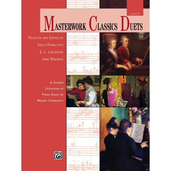 Alfred Music Masterwork Classics Duets, Level 8