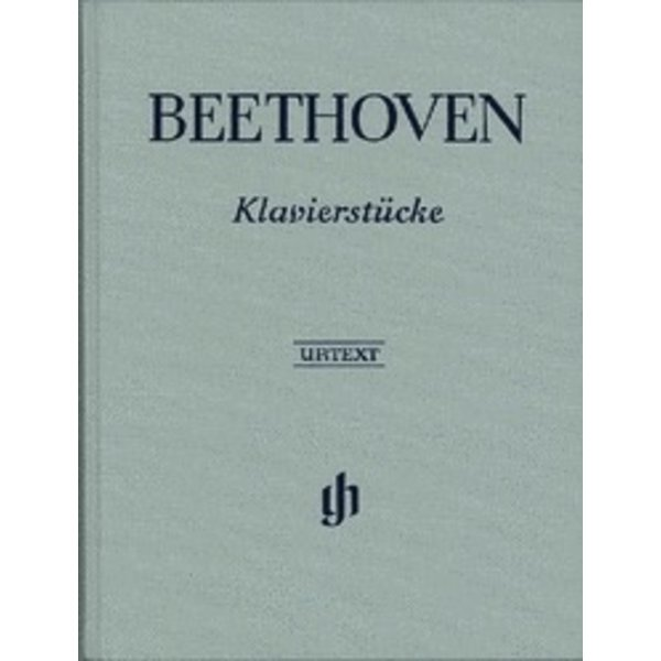Henle Urtext Editions Beethoven - Piano Pieces Hardcover