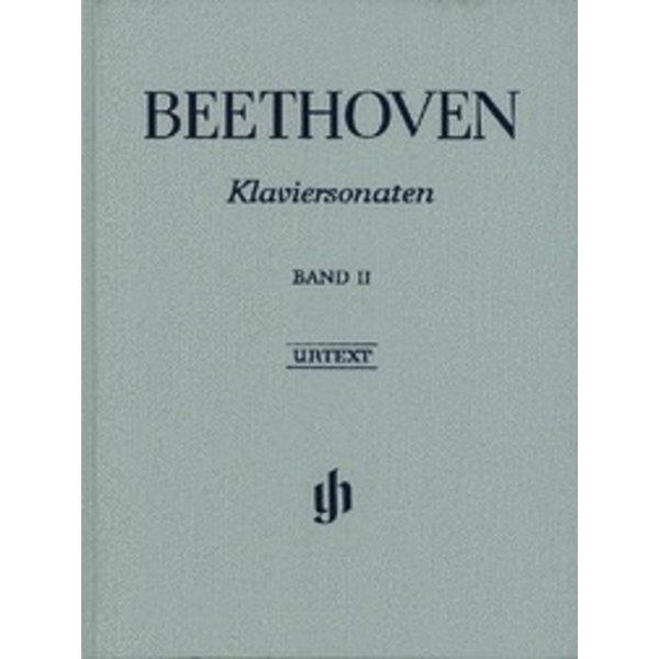 Henle Urtext Editions Beethoven - Piano Sonatas - Volume II Hardcover