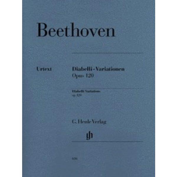 Henle Urtext Editions Beethoven - Diabelli-Variations Op. 120