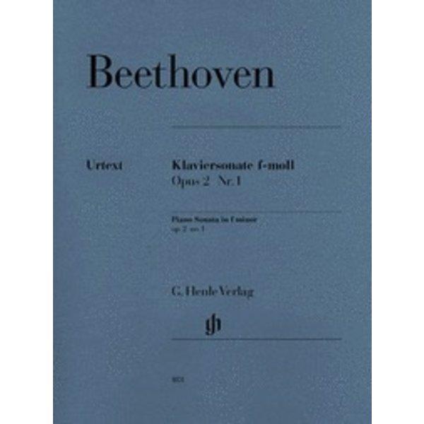 Henle Urtext Editions Beethoven - Piano Sonata No. 1 in F Minor, Op. 2