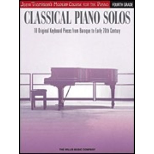 Willis Music Company Classical Piano Solos – Fourth Grade