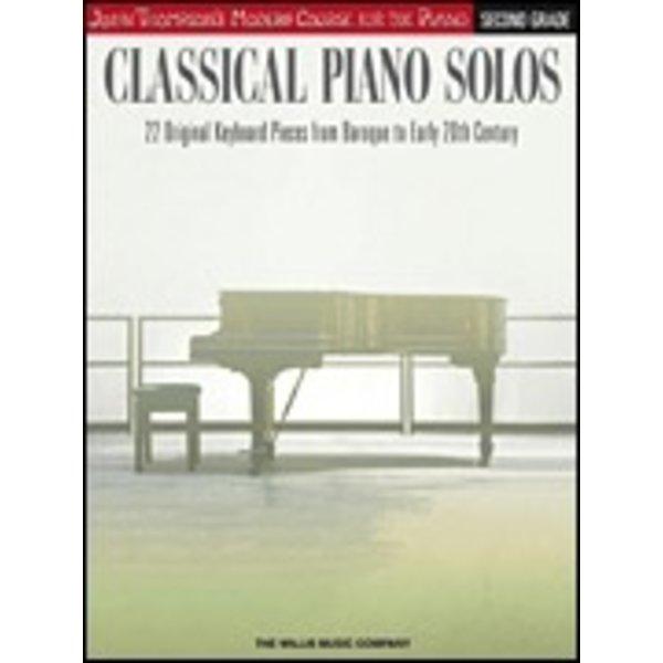 Willis Music Company Classical Piano Solos – Second Grade