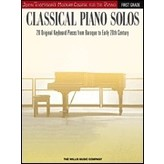 Willis Music Company Classical Piano Solos – First Grade