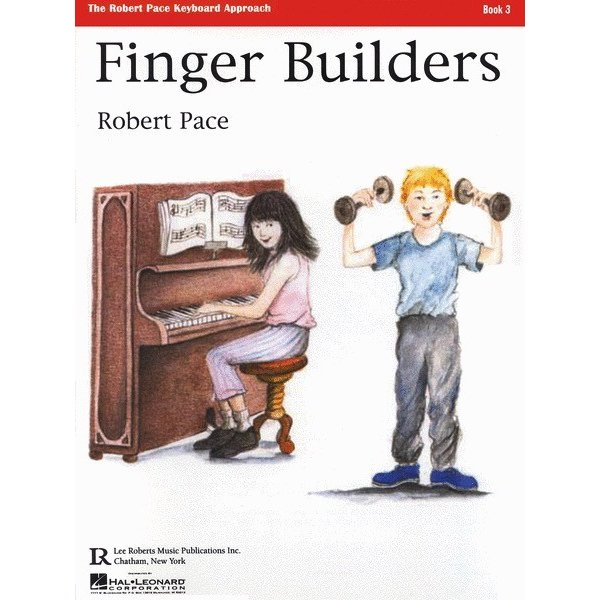 Lee Roberts Music Publications, Inc. Finger Builders - Book 3