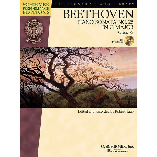 Schirmer Beethoven: Sonata No. 25 in G Major, Opus 79