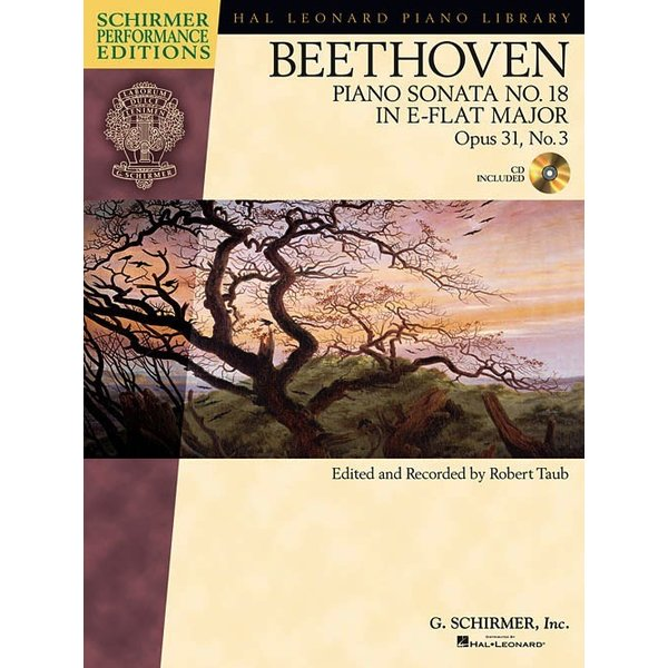Schirmer Beethoven: Sonata No. 18 in E-flat Major, Opus 31, No. 3