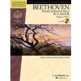 Schirmer Beethoven: Sonata No. 2 in A Major, Opus 2, No. 2