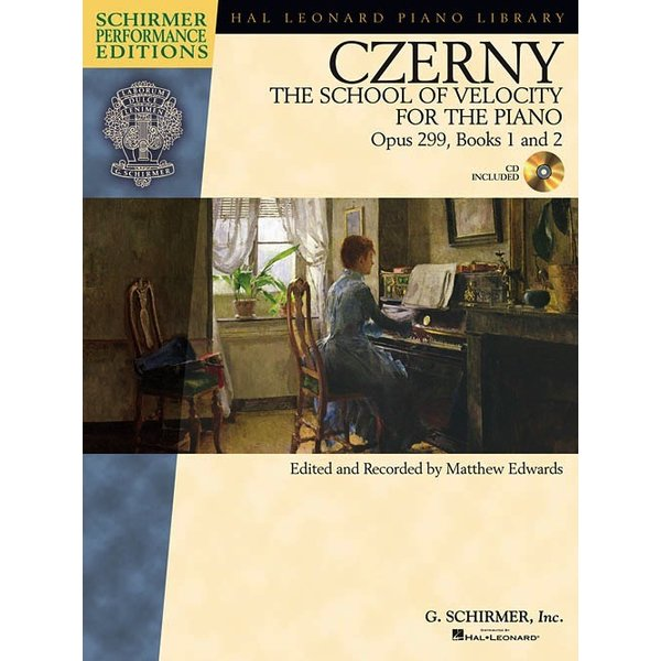 Schirmer Czerny – The School of Velocity for the Piano, Opus 299, Books 1 and 2