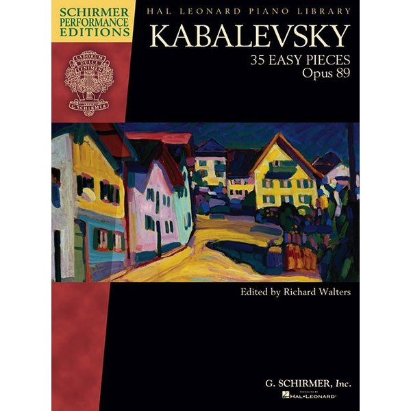 Schirmer Kabalevsky – 35 Easy Pieces, Op. 89 for Piano