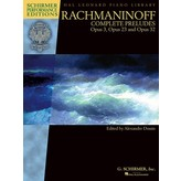 Schirmer Rachmaninoff – Complete Preludes for Piano, Op. 3, 23, and 32