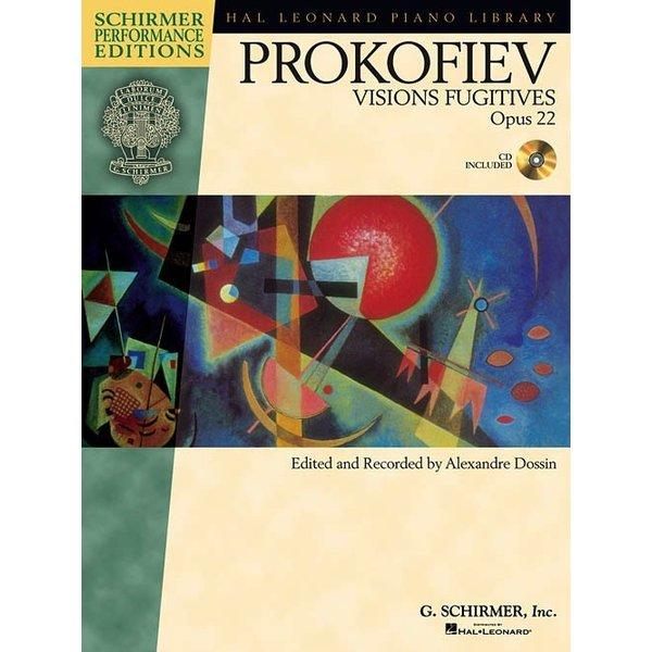 Schirmer Sergei Prokofiev – Visions Fugitives, Op. 22