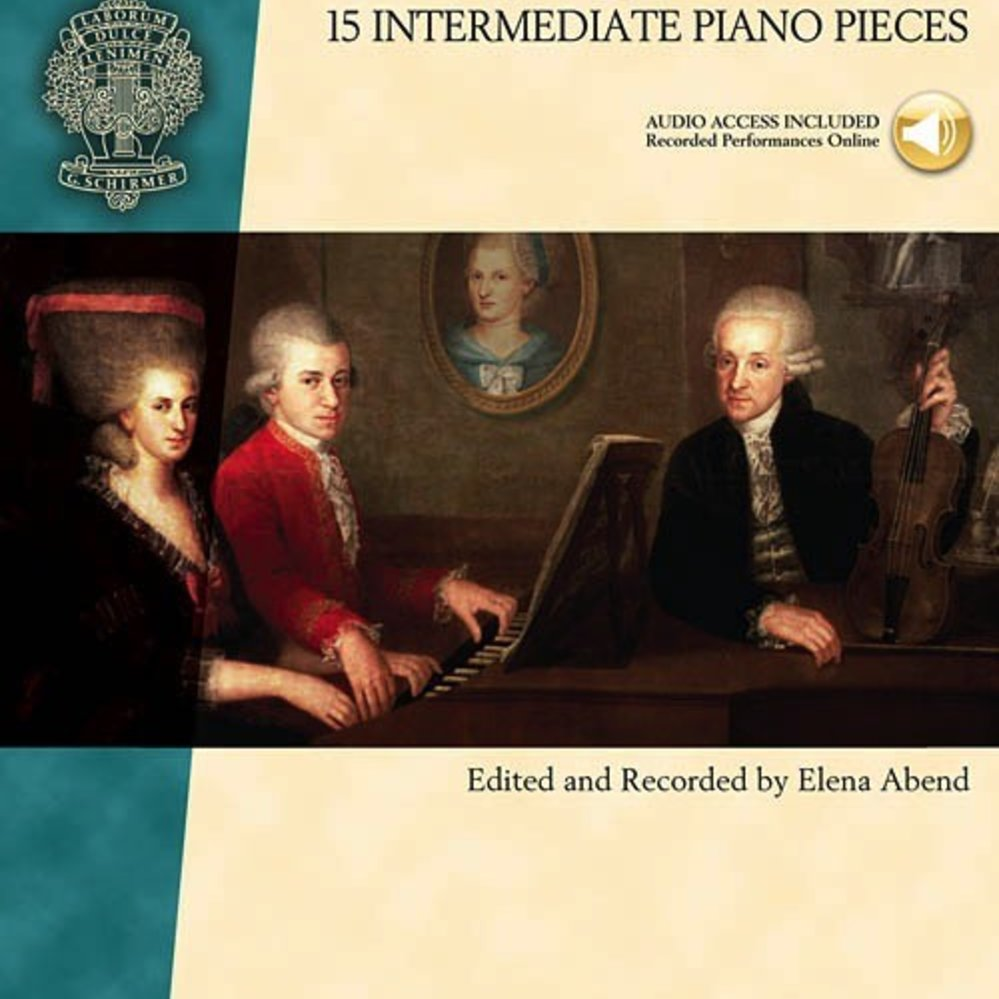 15 Intermediate Piano Pieces Mozart