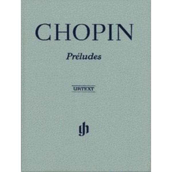 Henle Urtext Editions Chopin - Préludes Hardcover